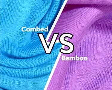 Cotton combed VS Cotton Bamboo DI Jogja